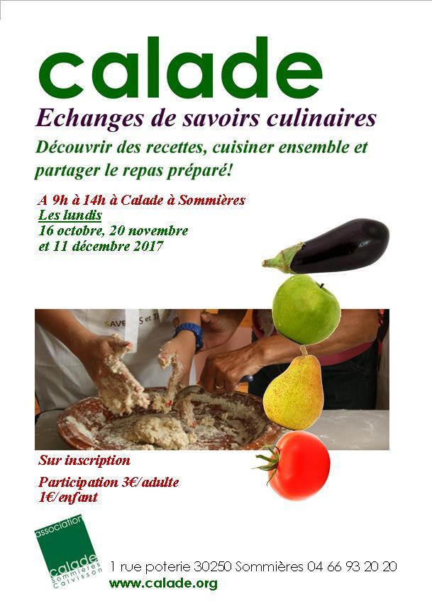 Échanges culinaires