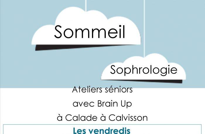 """Conférences et ateliers """"sommeil"""" et """"sophrologie"""""""