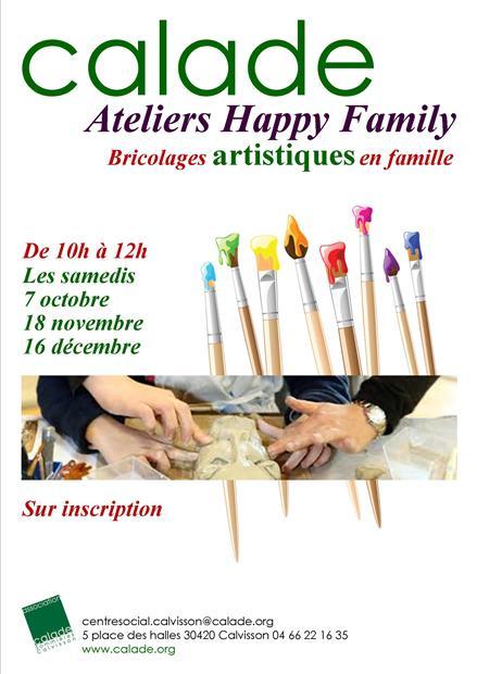 Ateliers Happy Family